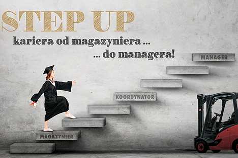 Step Up Kariera od magazyniera do managera
