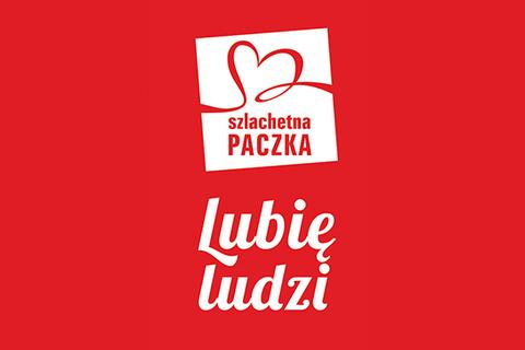Logo Szlachetna Paczka. Lubię ludzi
