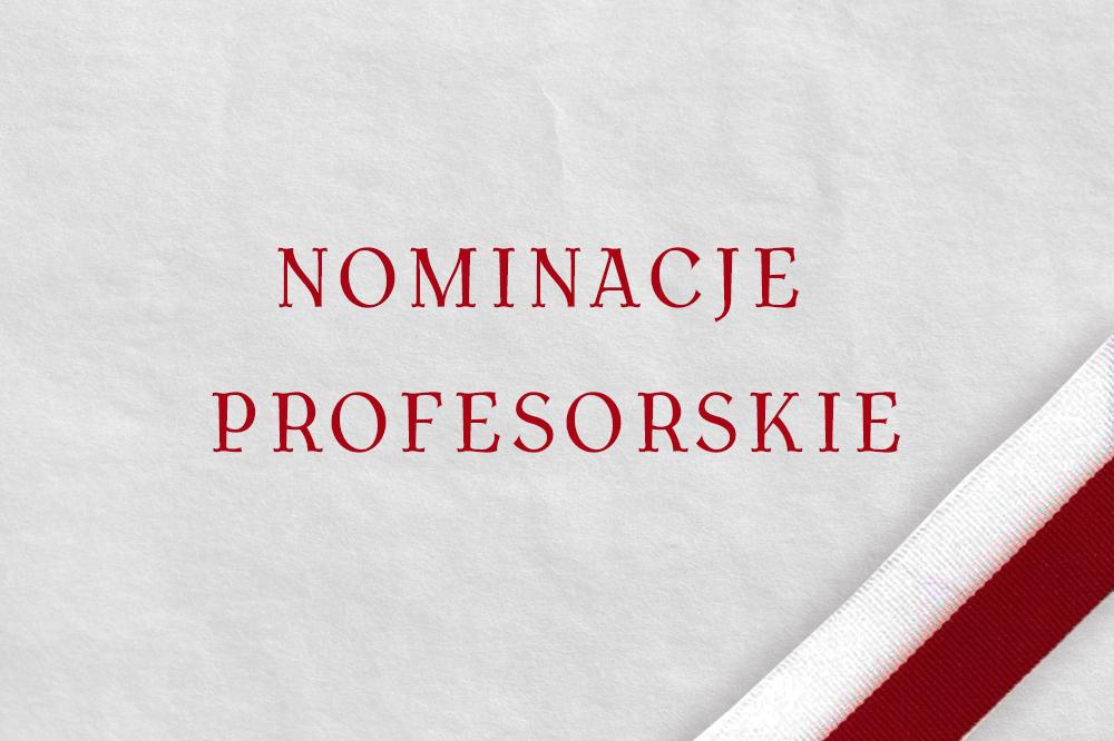 Nominacje profesorskie