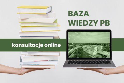 Baza wiedzy PB. Konsultacje online