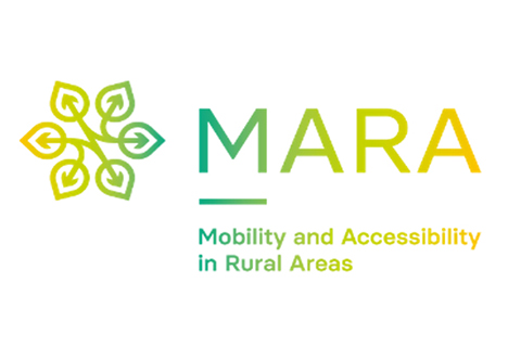 Logo projektu MARA - Mobility and Accessibility in Rural Areas