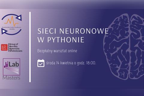 Sieci neuronowe w Pythonie. Bezpłatny warsztat online. 14 kwietnia 2021 r.