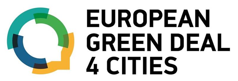 Logo projektu European Green Deal 4 Cities