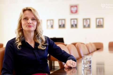 dr hab. inż. KAtarzyna Halicka, prof. PB - Dziekan Wydziału Inżynierii Zarządzania PB