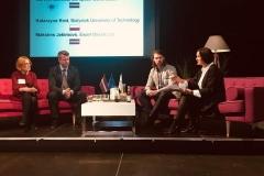 Członkowie zespołu GoSmartBSR na Innovation Week w Valmierze na Łotwie
