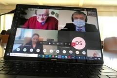 Pierwsza obrona rozprawy doktorskiej online na PB