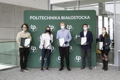 Uroczystość wręczenia certyfikatów Super Studenci Politechniki Białostockiej
